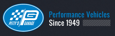 Pettys Garage Performance Vehicles logo