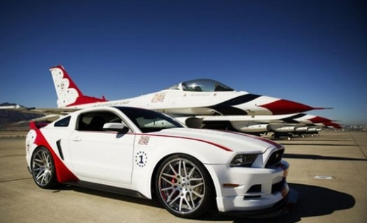 Thunderbirds 2014 Mustang