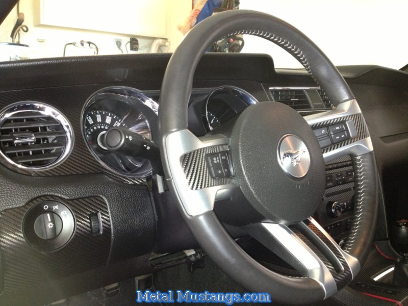 Just added Carbonfiber dash kit