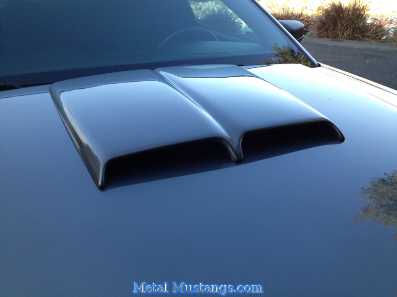 Hood Scoop Installation Completed